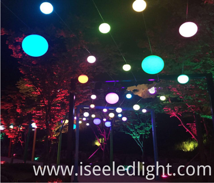 Garden light DMX hanging ball