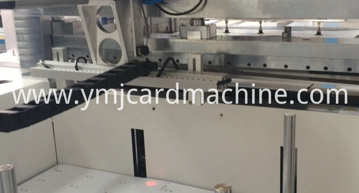 Smart Card Cutting Collating Trimming Machine
