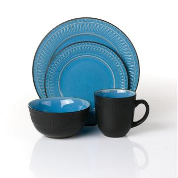 Wholesale New Design 16-piece stoneware dinnerware set