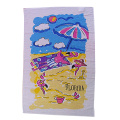 Custom Promotional Beach Poncho Towel Printing