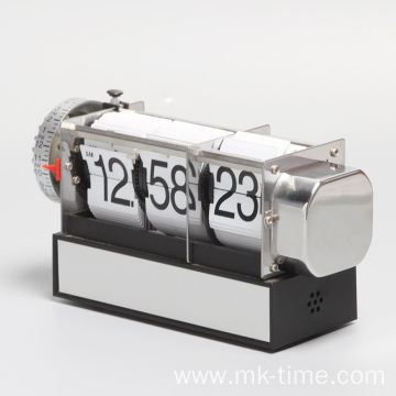 Retro table alarm flip clock for gift