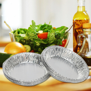 One-off Aluminum Foil Pie Tray Container