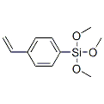 Naam: Benzeen, 1-ethenyl-4- (trimethoxysilyl) - CAS 18001-13-3