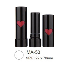 Round Empty Aluminum Lipstick Packaging