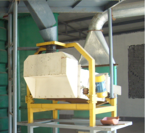 cleaning sieve for oil mill