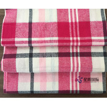 OEM/ODM for China 100% Cotton Yarn Dyed Fabric,100% Cotton Yarn Dyed Poplin Fabric,Cotton Jacquard Yarn Dyed Fabric Manufacturer and Supplier Soft Breathable 100% Cotton Flannel Plaid Fabric supply to Bangladesh Manufacturers
