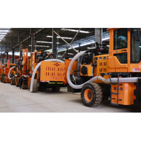 Honggong Highway Guardrail Piling machine