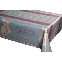Elegant Tablecloth with Non woven backing on Roof