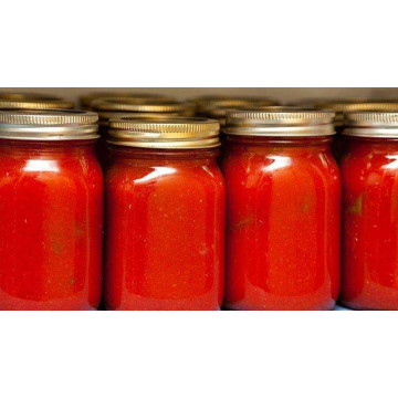 300g Organic Glass Bottle Tomato Paste