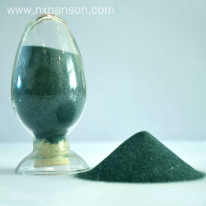 Green color silicon carbide good
