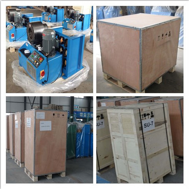 hose crimping machine packing