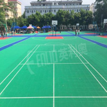 Customized for Outdoor Sports Court Tiles Outdoor Play Areas Modular Tiles export to Monaco Manufacturer