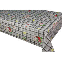 Pvc Printed fitted table covers Linen Size