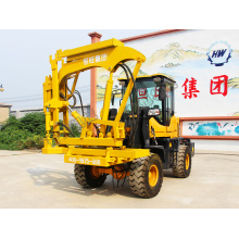 China for Press Wheel Pile Driver fence post beam guardrail hammer pile driver export to Colombia Suppliers