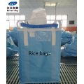 FIBC bulk bags of rice