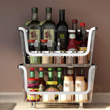 Multi-layer Storage Rack Floor Rack with Wheel