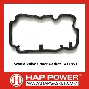 New Fashion Design for China Durable Valve Cover Gasket, Rubber Valve Cover Gasket, Wear Resistant Valve Cover Gasket Supplier Scania Valve Cover Gasket 1411851 export to East Timor Importers