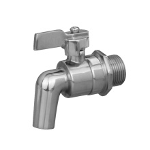 stainless steel valve threaded casting drain tap 316