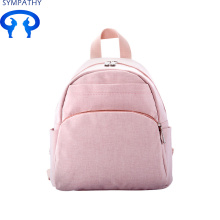 Custom solid color double shoulder rucksack