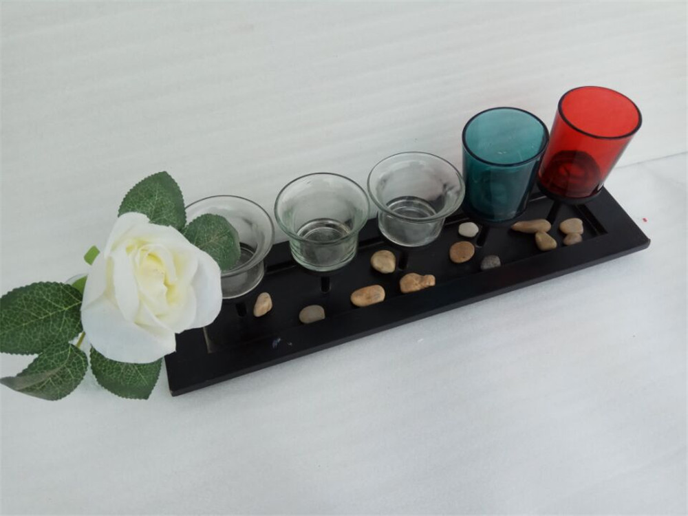 hot selling wooden candle holder