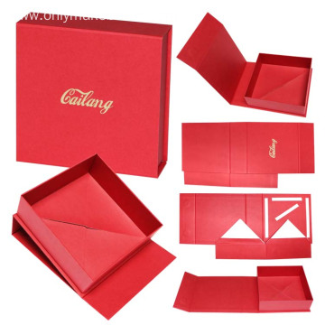 Luxury Red Rigid Box Packaging