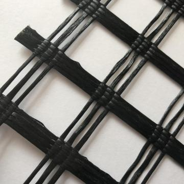 80KN Polyester Geogrid Used to enhance the roadbed