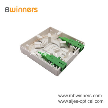 Factory Supply Fiber Optic Faceplate Box FTTH Box