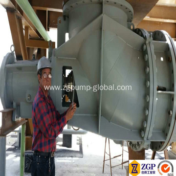 High Quality Horizontal Axial Flow Elbow Pump