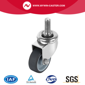 Threaded Stem Swivel Stainless Steel Caster