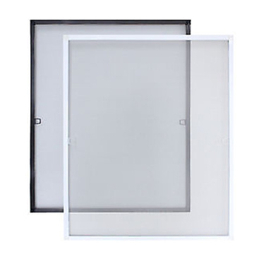 Aluminum frame window screen