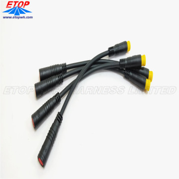Customized Waterproof Molded Connectors for E-Bike