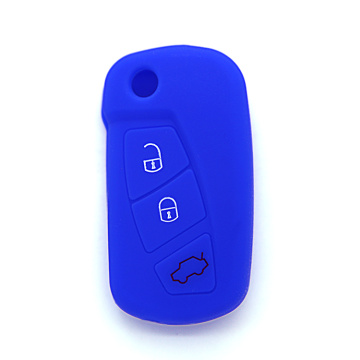 Best Quality for Ford Silicone Key Cover, Ford Silicone Key Fob Cover, Ford Silicone Key Case from China Supplier 3 button remote blank keys silicon for Ford export to United States Exporter