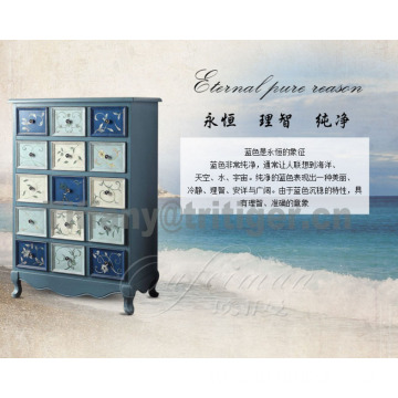 Living room furniture/european style blue white black storage wooden tv cabinet designs