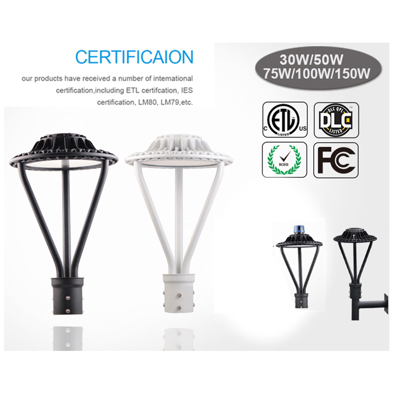Outdoor Led Lamp Post Lights