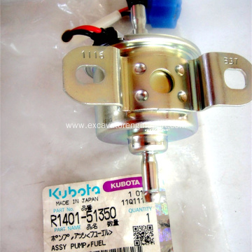 Electric Diesel Fuel Pump R1401-51350 for Bobcat Excavator