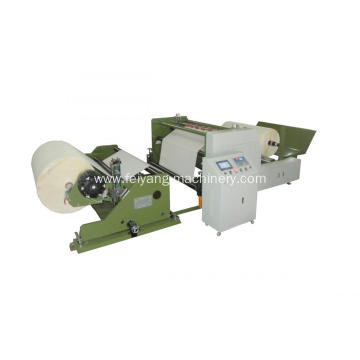 paper slitting machine for paper handles