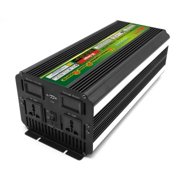 Black-Appearance practical portable UPS inverter 3000 Watt