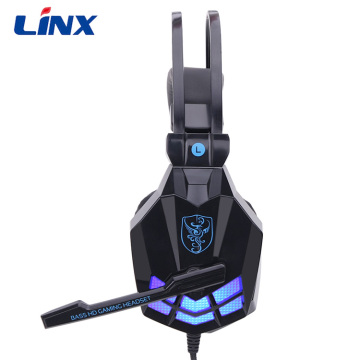 Leading for Wireless Gaming Headset Gaming Headphone Strong Bass Sounds With LED light supply to Djibouti Supplier