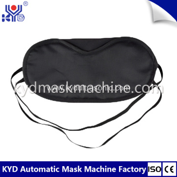Disposable Sleeping Eyeshade Body Making Machine
