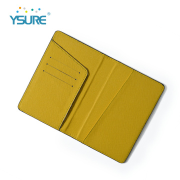 Wholesale Custom logo leather credit card holder