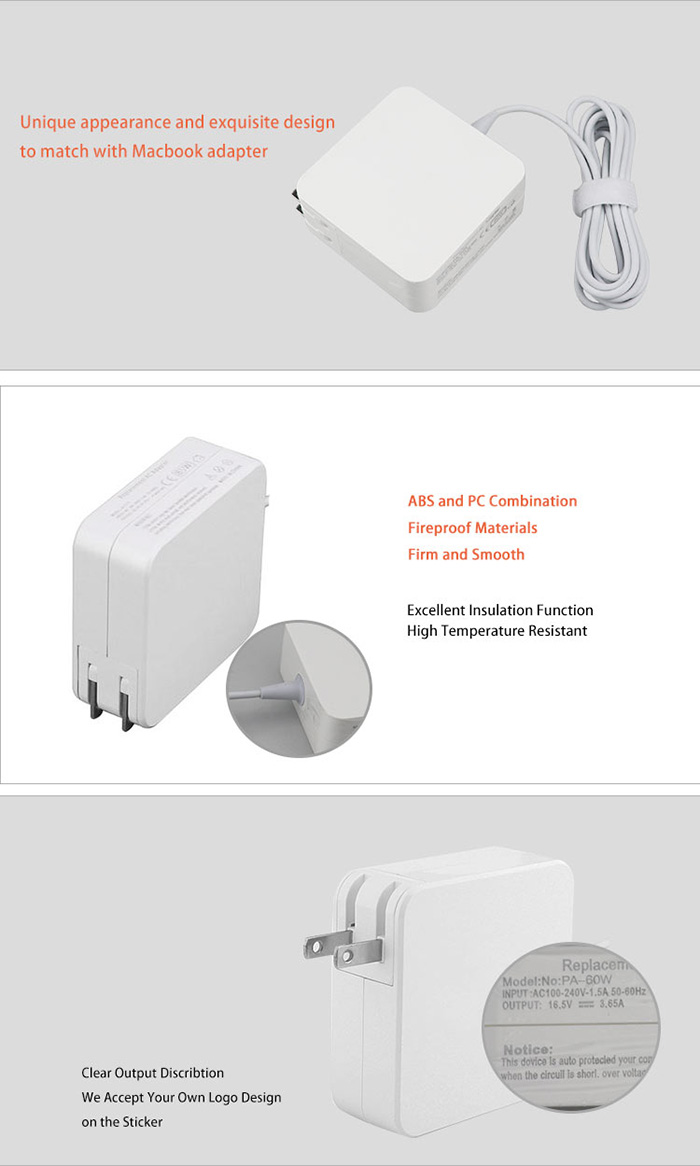 Adapter 60w For Macbook