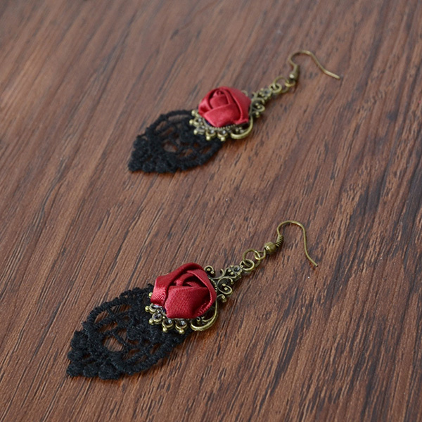 Lace Hook Earrings For Women