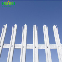 Big discounting for Palisade steel fence Details Modern Style Cheap Palisade fence panels wholesale supply to American Samoa Manufacturer