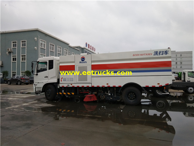 Dongfeng Road Sweeper Cars