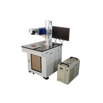 High accuracy color fiber laser marking machine