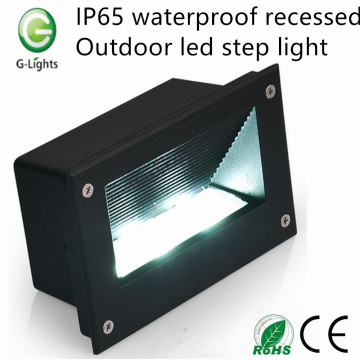 Short Lead Time for China Foot Step Light, Indoor Led Step Light, Led Stair Step Light Manufacturer and Supplier IP65 waterproof recessed outdoor led step light export to Italy Factories