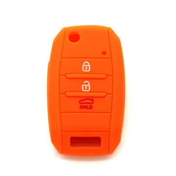 Customized for Kia Silicone Key Fob Cover durable custom car key holder for KIA K5 supply to Italy Exporter