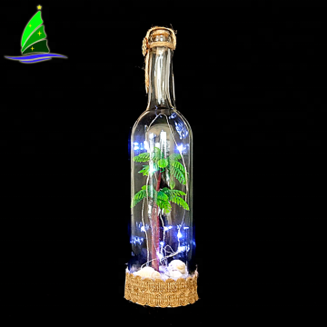 Cork Wine Bottle Rechargeable Powered String LED Light