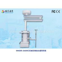Mechanical double arm surgery medical pendant