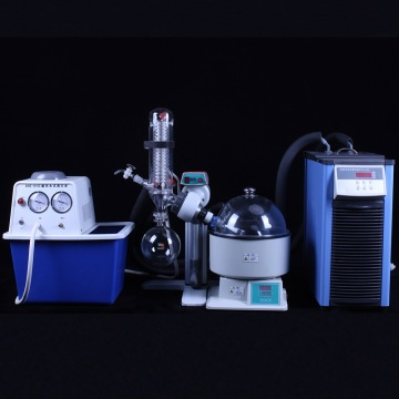 Laboratory 1-5L small rotating evaporator distiller price